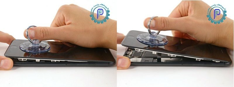 باز کردن صفحه نمایش iPhone 7 Plus