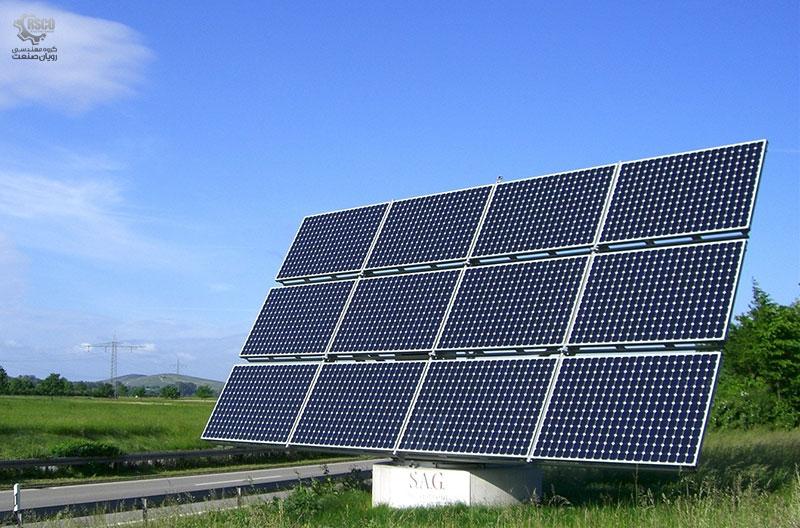 سلول های پنل های خورشیدی