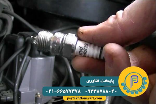 تمیز کردن شمع موتور سیکلت