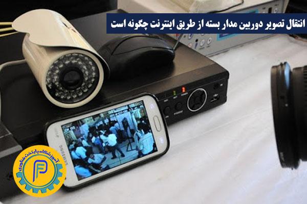 انتقال تصویر دوربین مدار بسته از طریق اینترنت چگونه است